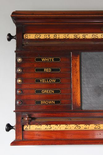 19th Century Orme & Sons Game Score Board