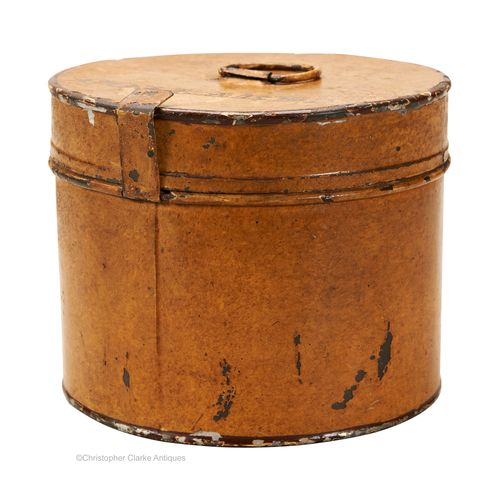 Toleware Collar Tin by George Hall of Fetter Lane