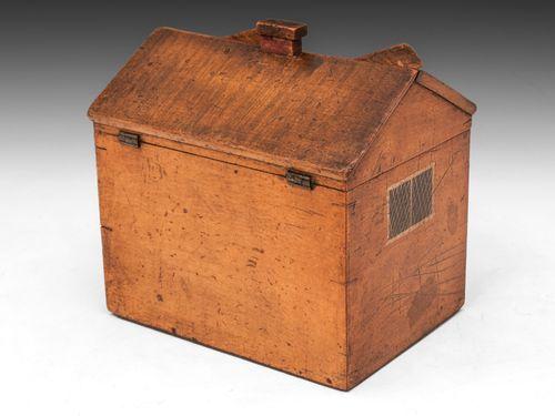Folk House Sewing Box