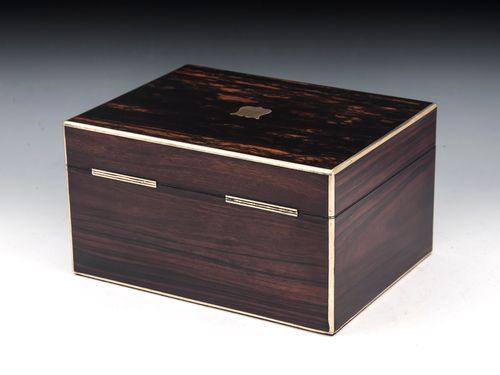 Coromandel SIlver Vanity Box