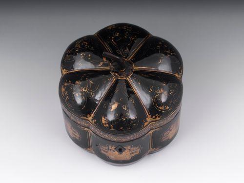 Chinese Melon Tea Caddy