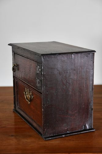 18th Century Oak Table Cabinet with Drawer