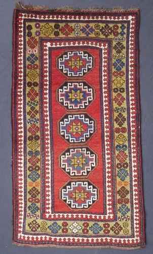 Antique Persian Kelardasht Rug