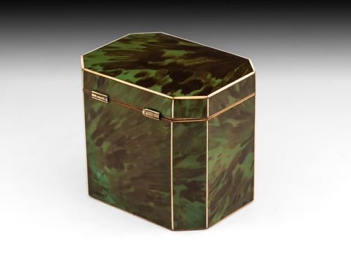 Green Tortoiseshell Caddy