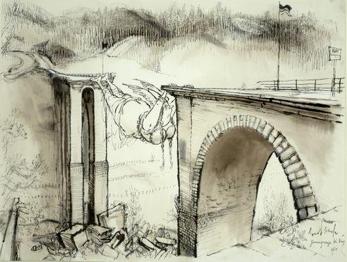 Ronald William Fordham Searle 1920 (Cambridge)-2011 (France)