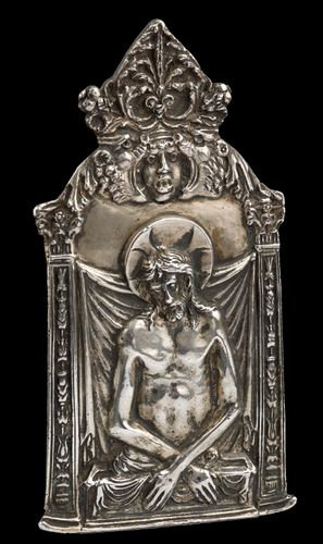 A Silver Pax, Italian or Spanish c.1580 – 1600