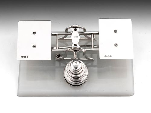 Sterling Silver Postal Scales