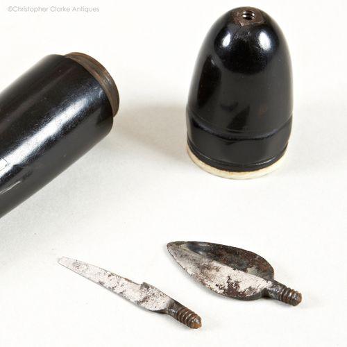 Scrivener's Tool with Interchangeable Blades