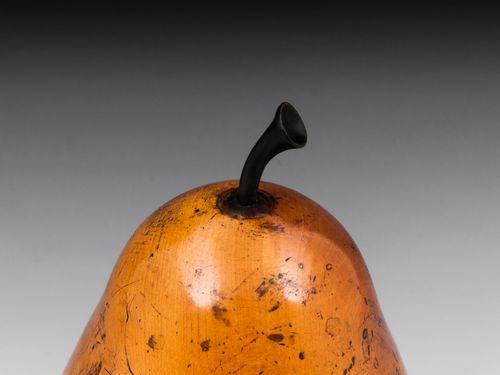 Pear Antique Tea Caddy