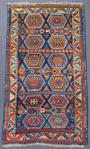 Antique Persian Sanjabi Rug