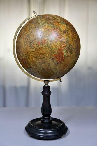 8 Inch Terrestrial Waverley Globe on Stand