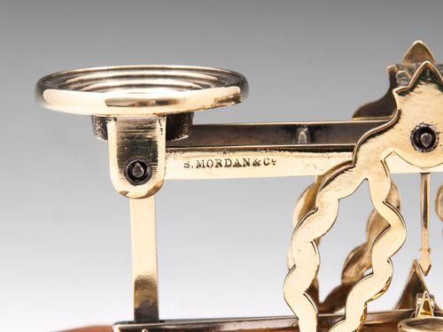 S. Mordan & Co Brass Postal Scales