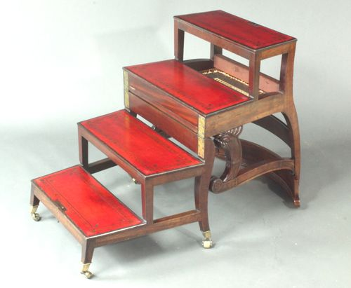 Metamorphic library chair