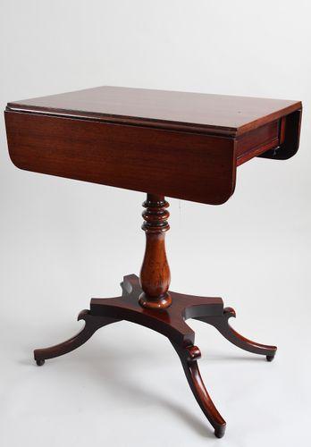 Regency Small Occasional Mahogany Table