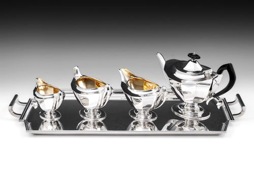 Art Deco Silver Tea Set