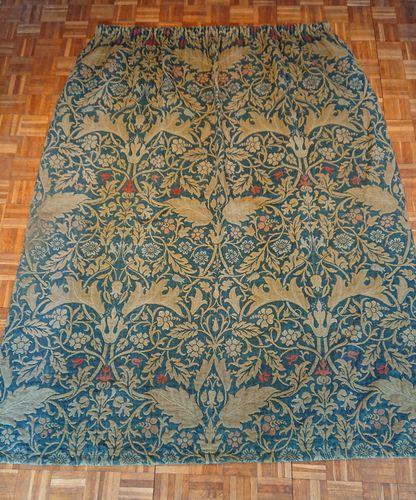Original William Morris Curtains, Pair