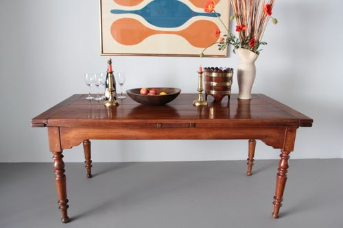 Antique Cherrywood Extending Dining Table