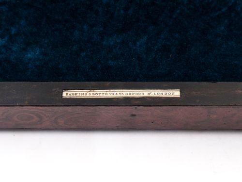 Burr Walnut Jewelry Box
