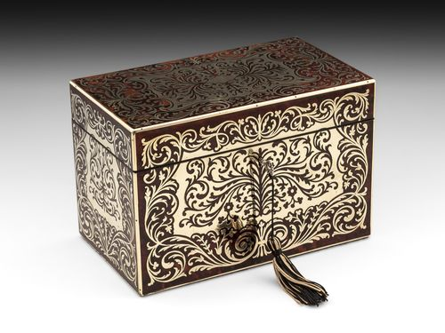 Boulle Stationery Box
