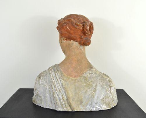 Brucciani & Co - St Cecilia - polychrome plaster