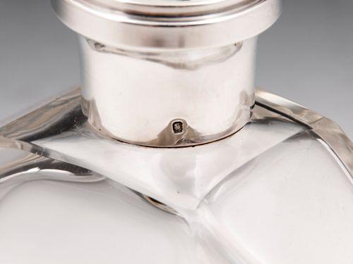 Silver Collar Decanter