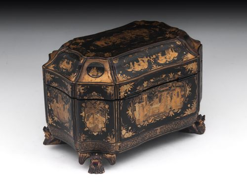 Antique Chinese Tea Caddy Chest