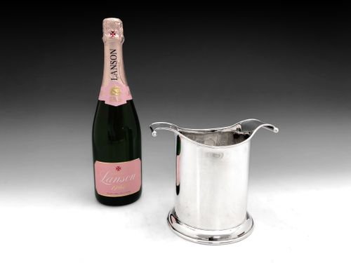Art Deco Silver Wine Cooler