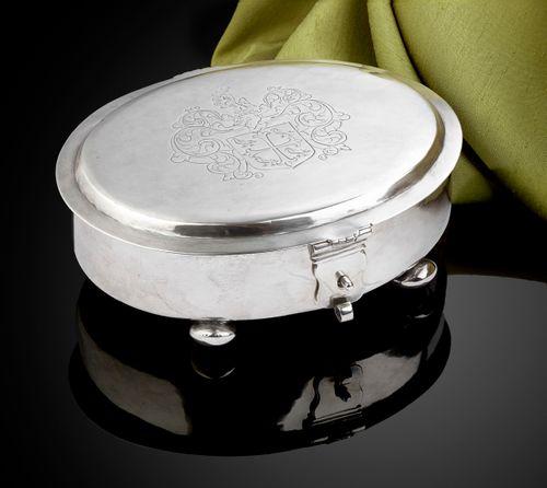 Charles II Silver Sugar Box