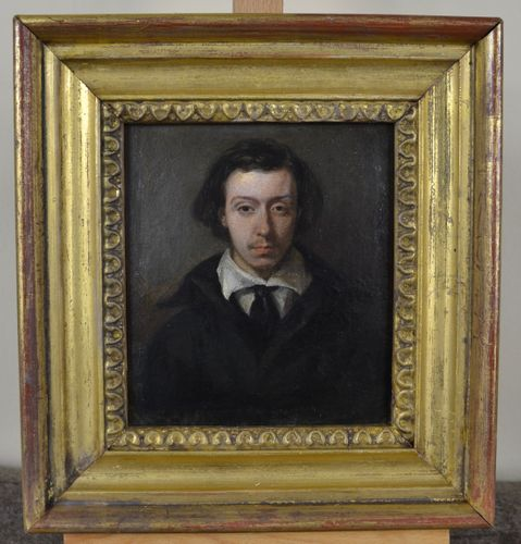 Nathan Cooper Branwhite - Portrait of Charles Branwhite - oil