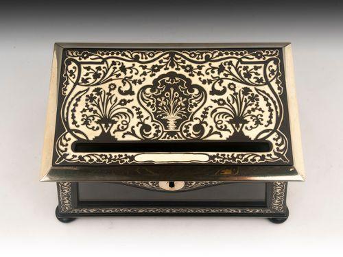 Brass Boulle Letter Box