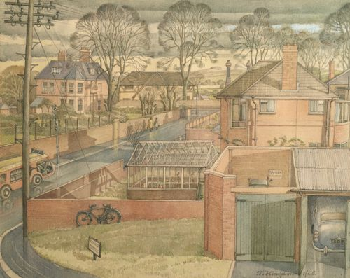 Godfrey Penington Kingdon - Norman Road, Winchester