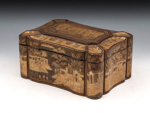 Chinese Export Tea Chest