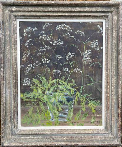 Sir Noel Coward - Cow Parsley - oil on canvas