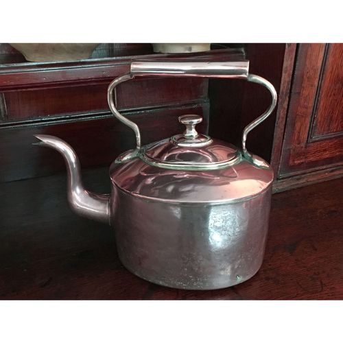 19th. Century Seamed Copper Kettle