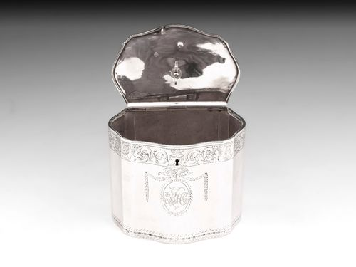 Sterling Silver Tea Caddy