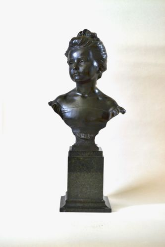 Alfred Drury RA - The Age of Innocence - Bronze