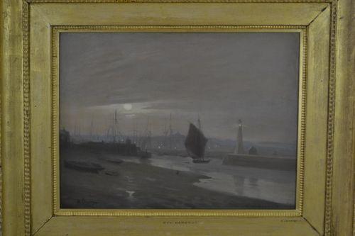 Sir William Llewellyn, PRA - Rye Harbour - Oil painting
