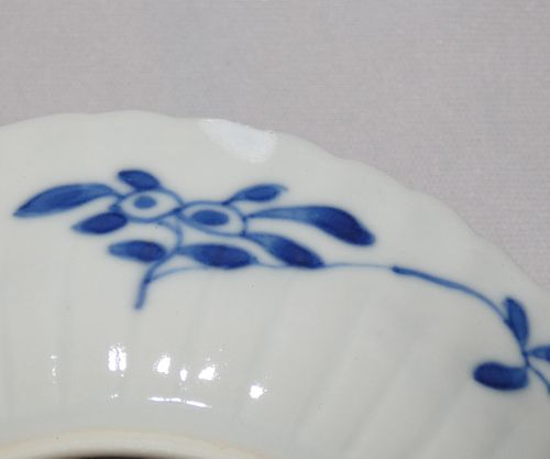 Kangxi Blue and White Tea Bowl and Saucer