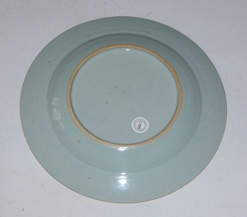 Qianlong Meissen Style Plate