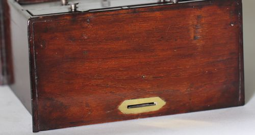 Antique Miniature Chest of Drawers Money Box