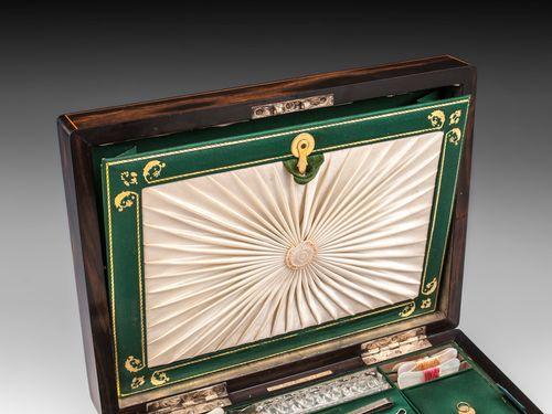 Antique Coromandel Sewing Box