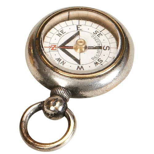 Small Compass For Hanging On A Fob Chain