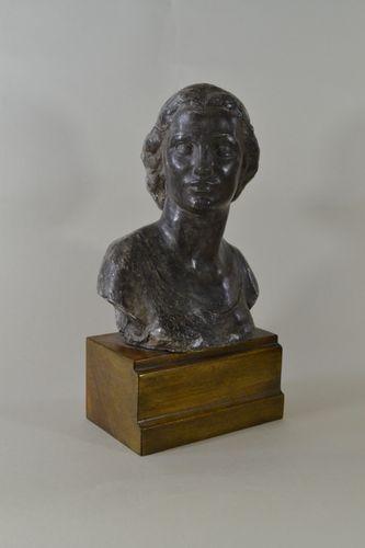 Richard Garbe - Elfreda, the Artist's Daughter - Plaster