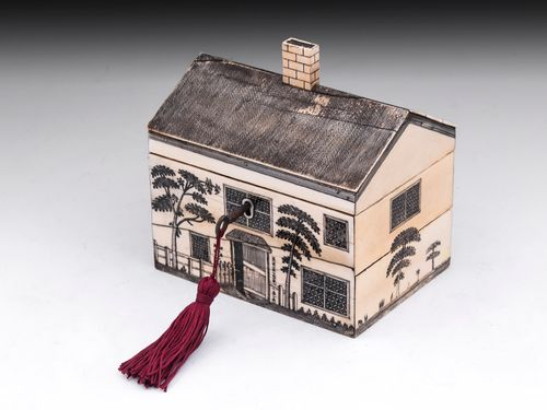 Ivory House Sewing Box