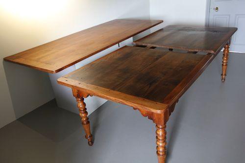 Antique Extending Farmhouse Dining Table