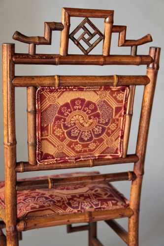 Pair of Victorian Bamboo Side Chairs