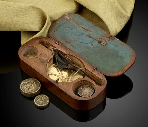 Antique Coin Scales 17th Century