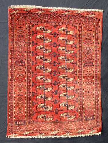 Small Antique Tekke Turkoman Rug