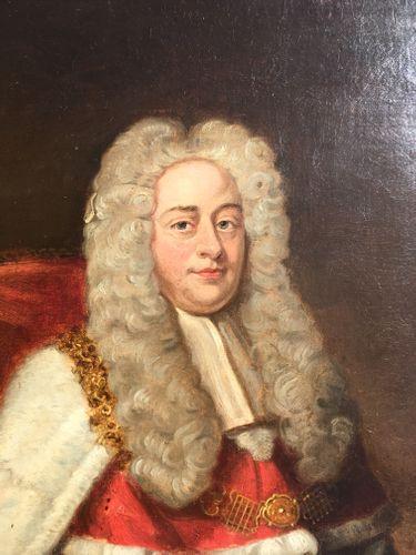 After Michael Dahl - Portrait of 1st Earl of Hardwicke - oil on canvas