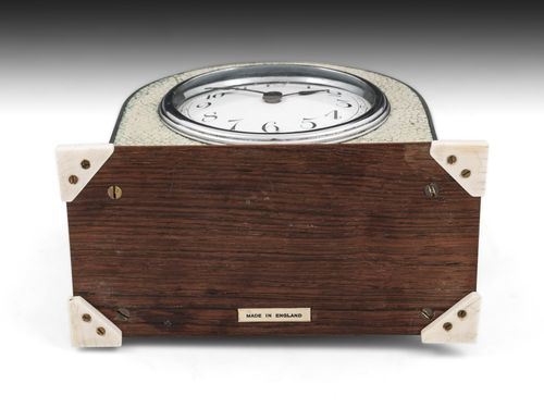 Art Deco Shagreen Mantle Clock